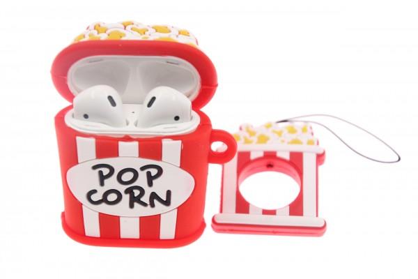 Airpod Case Popcorn, Silikon