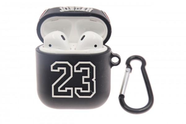 Airpod Case Jordan 23, Silikon schwarz